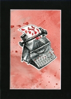 bleed for the typewriter