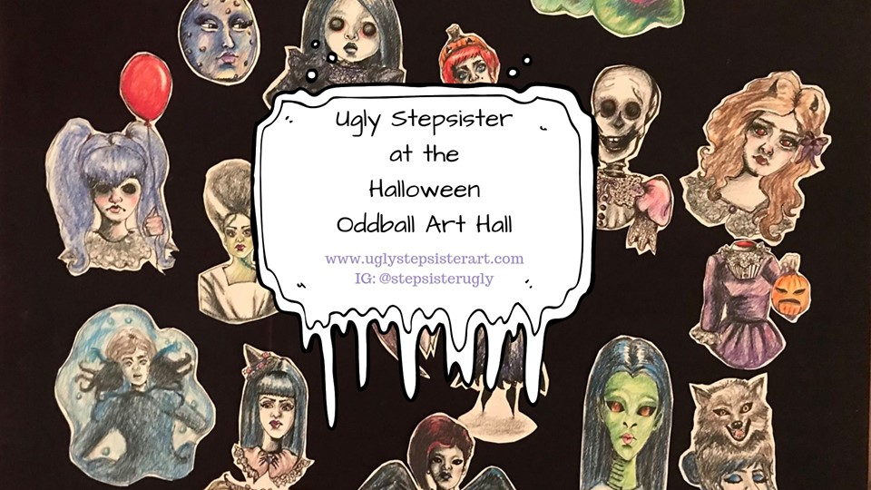 oddball art hall banner